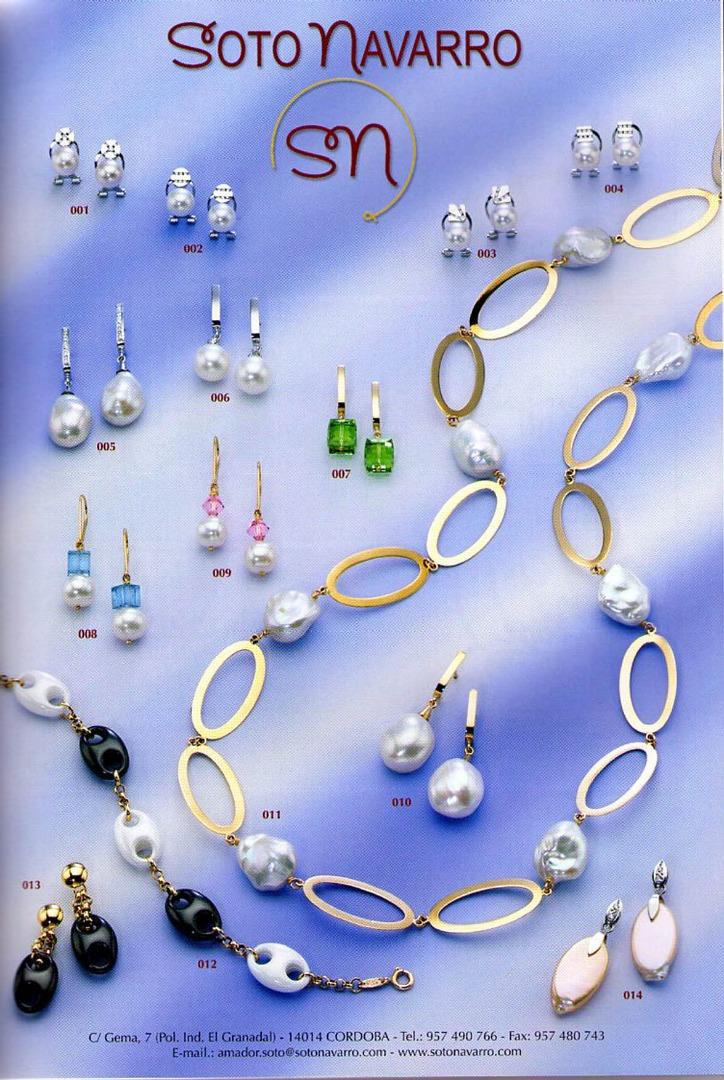 Fabricante de joyería Cordoba, Fabricantes de joyas, catálogo dulpex 09.