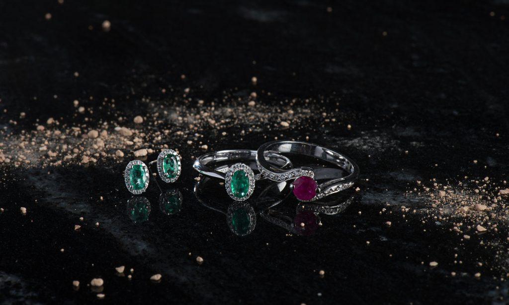 Fabricante de joyería Cordoba, Piedras de color