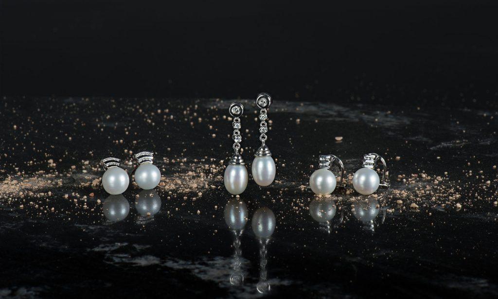 Fabricante de joyería Cordoba, Colección de pendientes de perlas